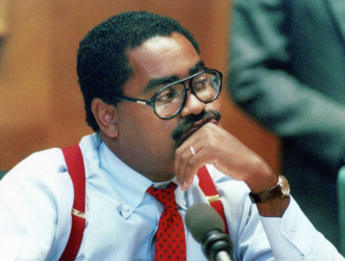 Harris County Precinct 1 Commissioner Rodney Ellis said he began investing campaign funds in the stock market as a Houston city councilman in the 1980s.