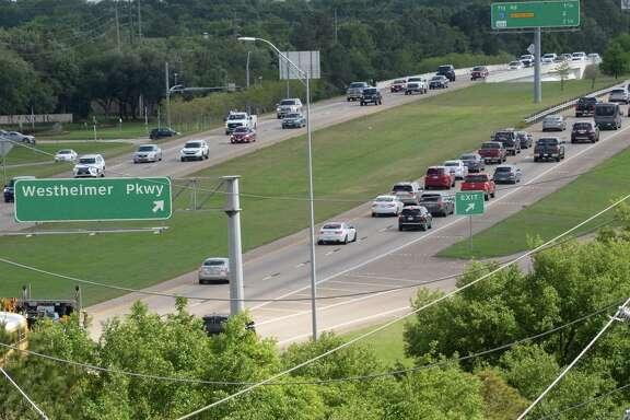 Grand Parkway in Katy, TX on Thursday, April 18, 2019.