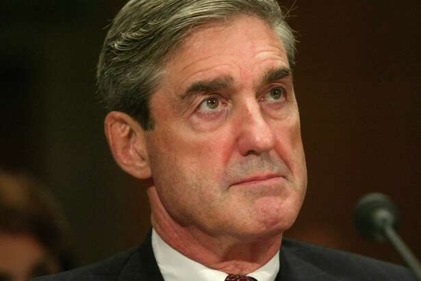 Robert S. Mueller, III, former director of the F.B.I., testifies on Capitol Hill in 2004. Mueller's report on Russian interference in the 2016 presidential election was released Thursday.