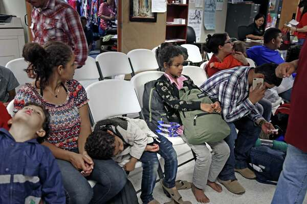 As more families arrive at border, family detention