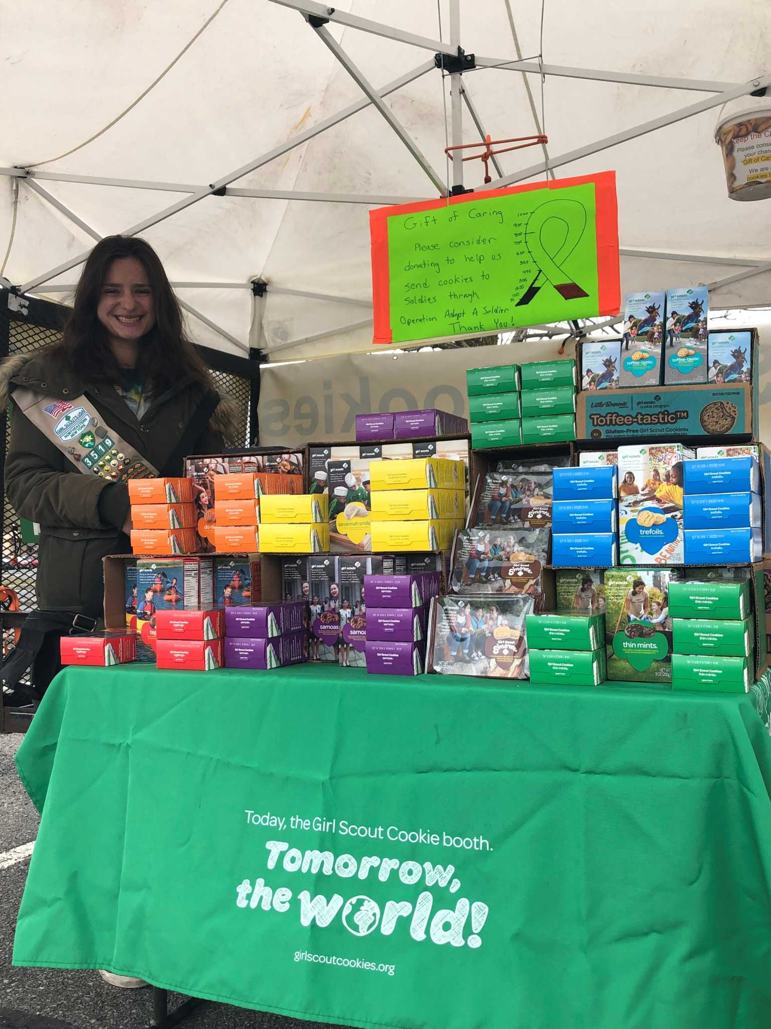 Capital Region Gives: 'Cookie Master' wraps Girl Scout career on top