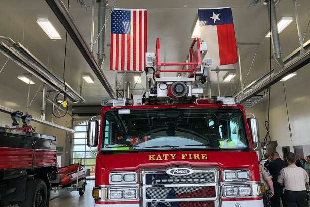 The Katy Fire Department celebrated earning a Class 1 rating from the Insurance Services Office last week.
