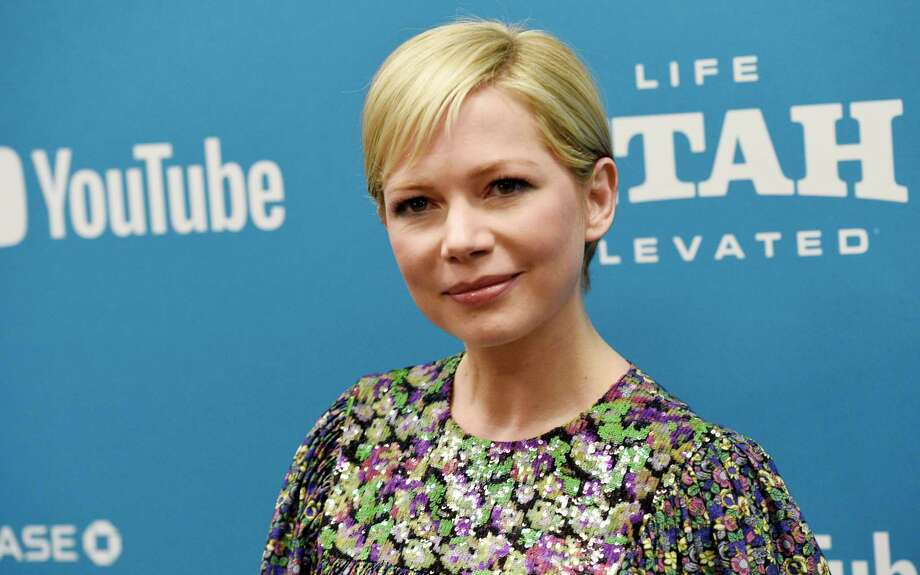 "FILE - In this Jan. 24, 2019, file photo, Michelle Williams, a cast member in ""After the Wedding,"" poses at the premiere of the film on the opening night of the 2019 Sundance Film Festival in Park City, Utah. Michelle Williams and Phil Elverum have separated after less than of marriage. A person close to the couple who wasn?t authorized to comment on the matter confirmed the split Friday, April 19, 2019. It was first reported by People magazine. The 38-year-old Oscar-nominated actress and the 40-year-old musician were wed last July in upstate New York. (Photo by Chris Pizzello/Invision/AP, File) Photo: Chris Pizzello / 2019 Invision"