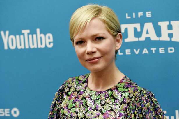 """FILE - In this Jan. 24, 2019, file photo, Michelle Williams, a cast member in """"After the Wedding,"""" poses at the premiere of the film on the opening night of the 2019 Sundance Film Festival in Park City, Utah. Michelle Williams and Phil Elverum have separated after less than of marriage. A person close to the couple who wasn?t authorized to comment on the matter confirmed the split Friday, April 19, 2019. It was first reported by People magazine. The 38-year-old Oscar-nominated actress and the 40-year-old musician were wed last July in upstate New York. (Photo by Chris Pizzello/Invision/AP, File)"""