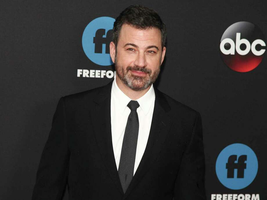 In this May 15, 2018 file photo, Jimmy Kimmel attends the Disney/ABC/Freeform 2018 Upfront Party at Tavern on the Green in New York. A New Milford wellness nurse received a surprise of a lifetime from Maroon 5 singer, Adam Levine, and late night TV show host, Jimmy Kimmel, this week. Photo: Andy Kropa / Invision
