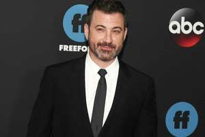 FILE - In this May 15, 2018 file photo, Jimmy Kimmel attends the Disney/ABC/Freeform 2018 Upfront Party at Tavern on the Green in New York. All in the Family? and ?The Jeffersons? are coming back to TV, live and for one night only. Norman Lear, who created ?All in the Family? and ?The Jeffersons,? and Kimmel will host the prime-time special airing live May 22, 2019, on ABC. (Photo by Andy Kropa/Invision/AP, File)