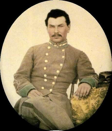 Confederate officer José Rafael de la Garza, also known as Joseph de la Garza, was born in San Antonio in 1838 to a prominent local family, according to the Texas State Historical Association. He was killed in battle in 1864. He is one of more than 200 Tejano Confederate servicemen who will be recognized at a ceremony April 28 at the San Antonio Confederate Cemetery, located inside City Cemetery no. 4 near the corner of Belmont and N. New Braunfels on the East Side.
