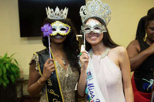 The Psi Alpha Chapter of the Omega Psi Phi Fraternity hosted the 18th Annual Fiesta Masquerade Ball and multicultural celebration at the Hilton Garden Inn on Friday night, April 19, 2019.