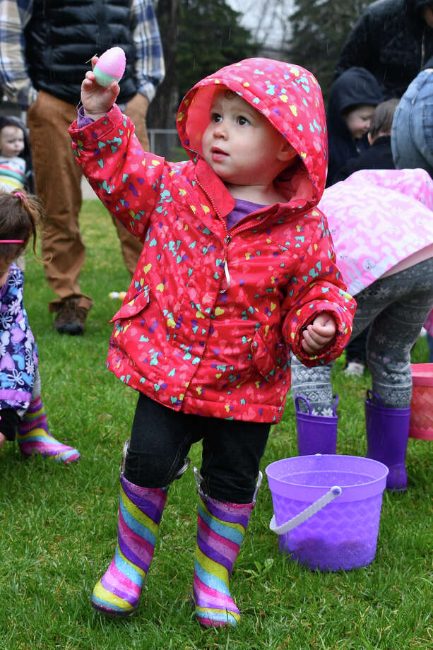 Kids enjoyed arts and crafts, pictures with The Easter Bunny and an Easter Egg Hunt on Saturday, April 20, 2019 at Rowley Field in Winsted, hosted by Winsted Recreation. Photo: Lara Green- Kazlauskas/ Hearst Media