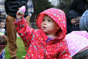 Kids enjoyed arts and crafts, pictures with The Easter Bunny and an Easter Egg Hunt on Saturday, April 20, 2019 at Rowley Field in Winsted, hosted by Winsted Recreation.