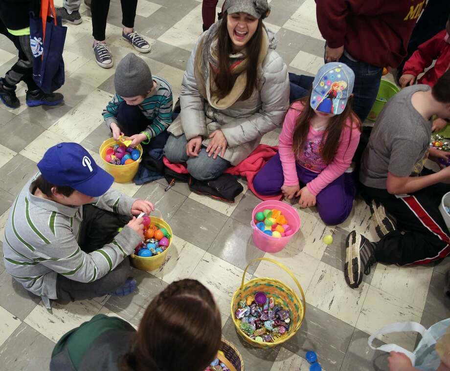 Pigeon Easter Egg Hunt Photo: Paul P. Adams/Huron Daily Tribune