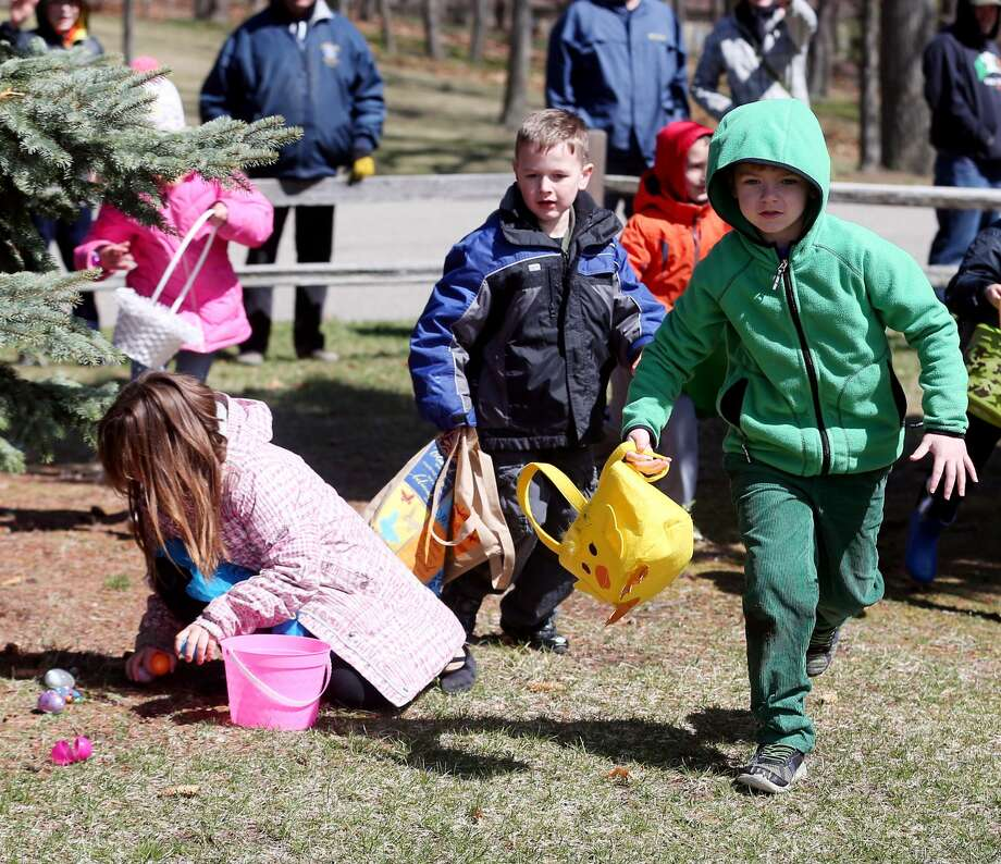 Port Austin Easter Egg Hunt Photo: Paul P. Adams/Huron Daily Tribune