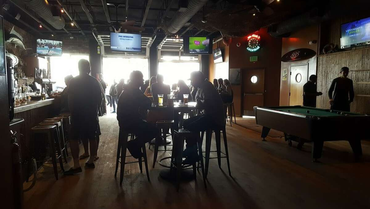 FILE PHOTO: Mr Rick's bar in Avila Beach, where a San Luis Obispo city employee was filmed knocking a woman unconscious.