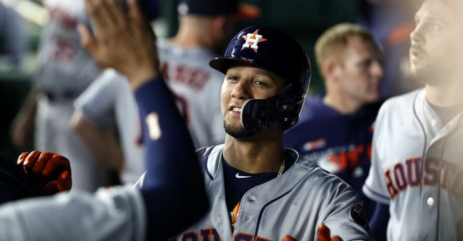 Patience at the plate paying off for Astros' Yuli Gurriel