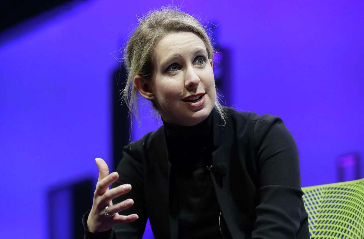 """Elizabeth Holmes, founder and CEO of Theranos, which collapsed under the weight of what the Securities and Exchange Commission called """"massive fraud."""""""