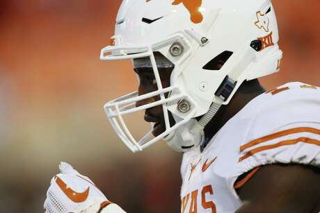D'Shawn Jamison, a high school All-American at defensive back, played on offense as the Longhorns finished 10-4 in 2018.