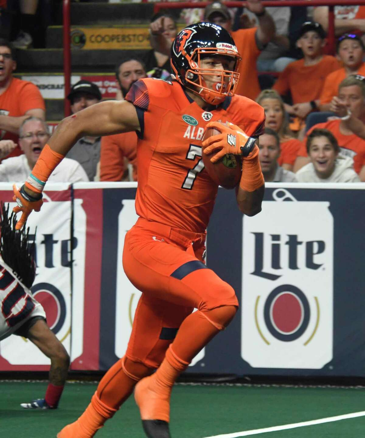 In two seasons with the AFL Empire, Malachi Jones had 173 receptions for 2,596 yards and 54 touchdowns.