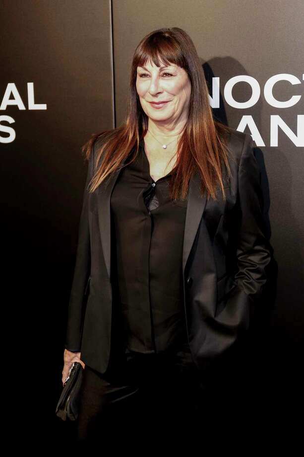 """FILE- In this Nov. 11, 2016 file photo, Angelica Houston arrives at the LA Special Screening of """"Nocturnal Animals"""" at the Hammer Museum in Los Angeles. n an April 20, 2019 opinion piece in the New York Daily News, that she is backing bills introduced in the New York City Council and in New York's state Legislature to ban the sale of fur. (Photo by Willy Sanjuan/Invision/AP, File) Photo: Willy Sanjuan / Invision"""