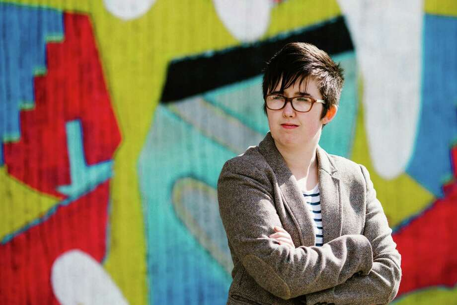 "A handout picture released by Jess Lowe Photography on April 19, 2019 and taken on May 19, 2017 shows journalist and author Lyra McKee posing for a photograph in Belfast. - Journalist Lyra McKee was shot dead overnight during riots in the Creggan area of Derry, Northern Ireland, in what police on April 19, 2019 were treating as a terrorist incident following the latest upsurge in violence to shake the troubled region. (Photo by Jess LOWE / JESS LOWE PHOTOGRAPHY / AFP) / RESTRICTED TO EDITORIAL USE - MANDATORY CREDIT ""AFP PHOTO / JESS LOWE PHOTOGRAPHY "" - NO MARKETING NO ADVERTISING CAMPAIGNS - DISTRIBUTED AS A SERVICE TO CLIENTSJESS LOWE/AFP/Getty Images Photo: JESS LOWE / JESS LOWE PHOTOGRAPHY"