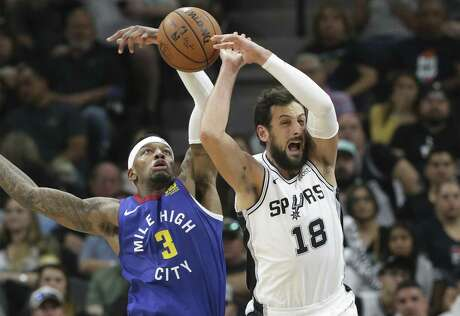 Marco Belinelli, right, is averaging a career-low 6.3 points in the playoffs and shooting only 37.5 percent.