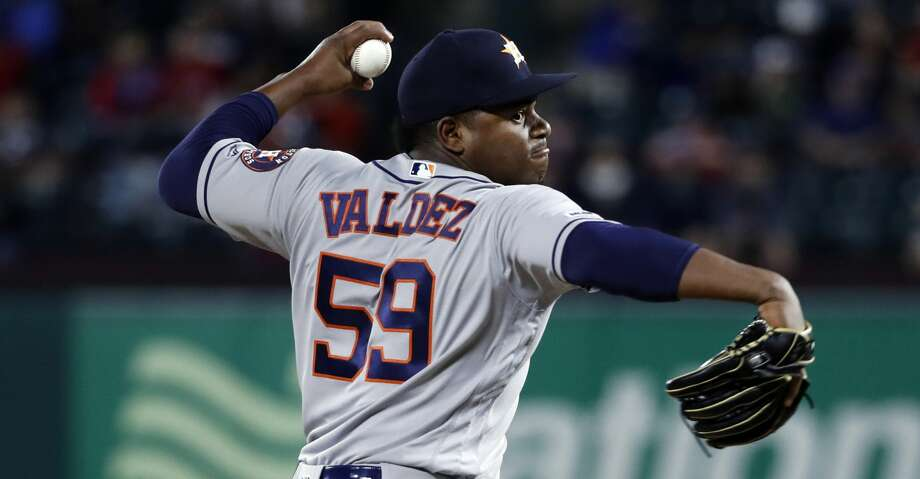 Astros call up reliever Framber Valdez