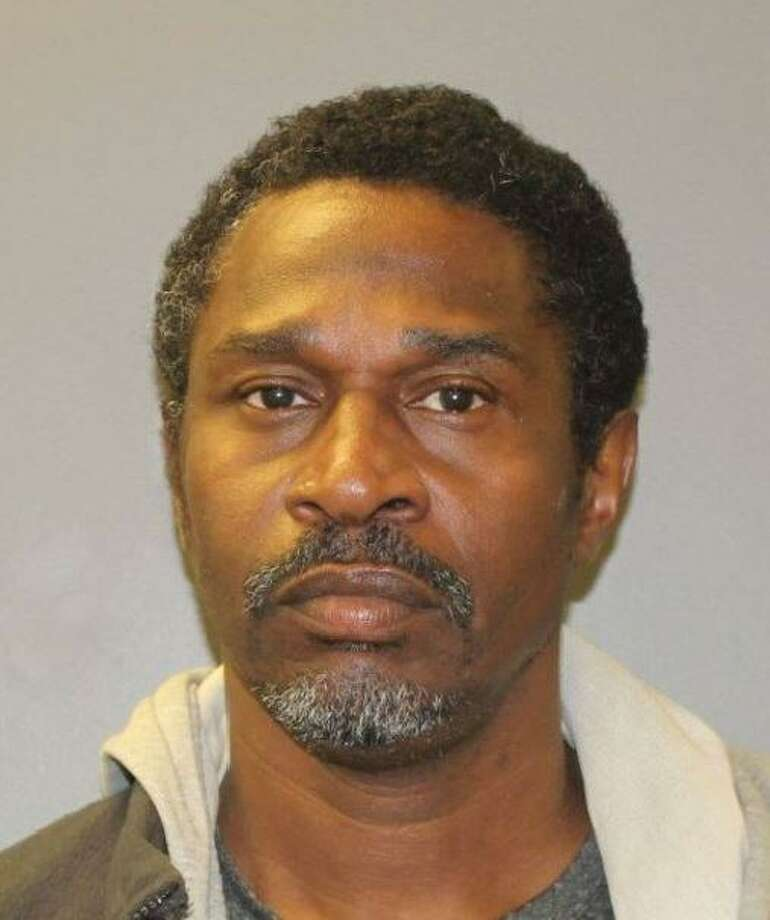 Johnny Doward, 54, was charged with burglary in the first degree and possession of drug paraphernalia. He was held on a $100,000 bond. Photo: North Haven Police Department Facebook