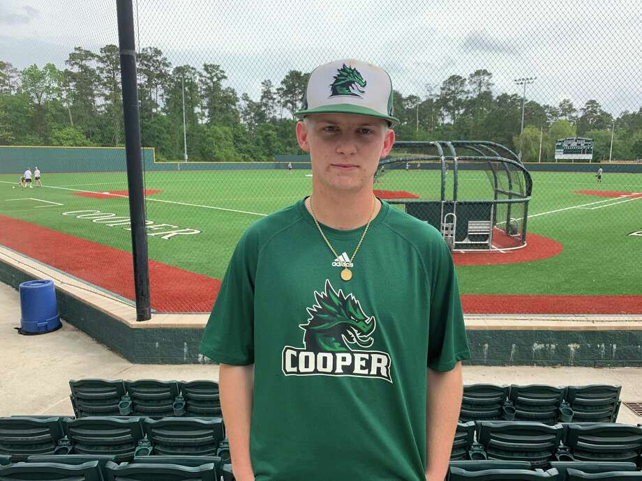 The John Cooper School baseball player Tyler Douglas grew up in the Middle East and learned a lot playing the game outside of the United States. Photo: Jon Poorman