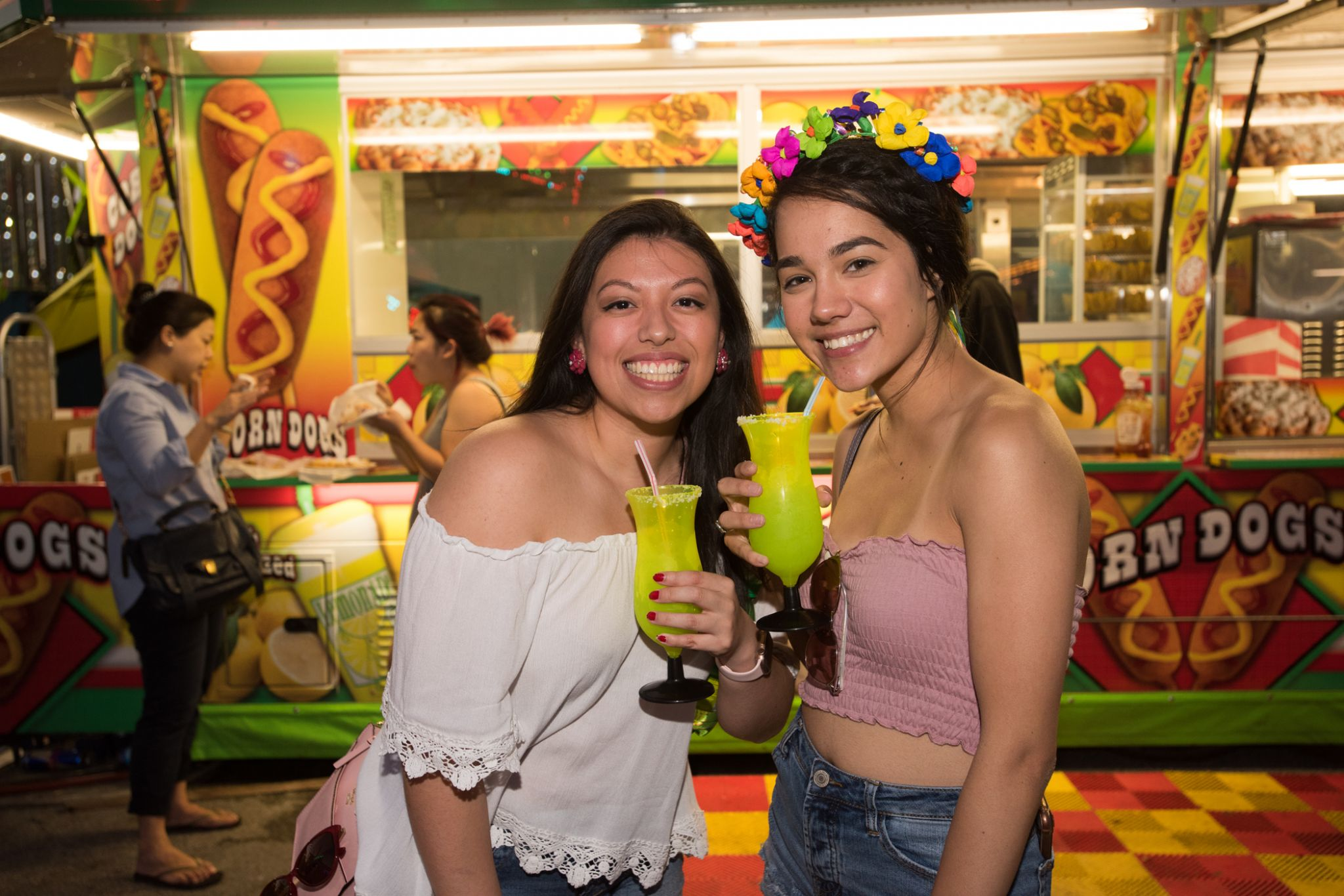 Fiesta Carnival brings hundreds out for prizes, food and rides
