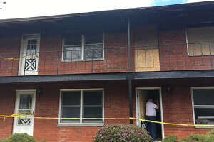 An apartment building off Route 50 in Glenville was damaged by fire early Easter morning April 21, 2019.