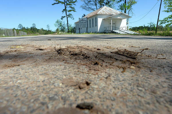 Huff Creek Memorial Chapel in Jasper sits along Huff Creek Road where James Byrd, Jr.'s body was dumped after having been dragged three miles to his death on June 7, 1998. A motorist found his remains the following morning. John William King, one of three men convicted in Byrd's murder, is set to be executed in Huntsville April 24. Lawrence Brewer was executed in 2011, and Shawn Berry is serving a life sentence. Photo taken Tuesday, April 9, 2019 Kim Brent/The Enterprise