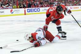 Tom Wilson is just one of the Capitals' physically imposing, tough players.