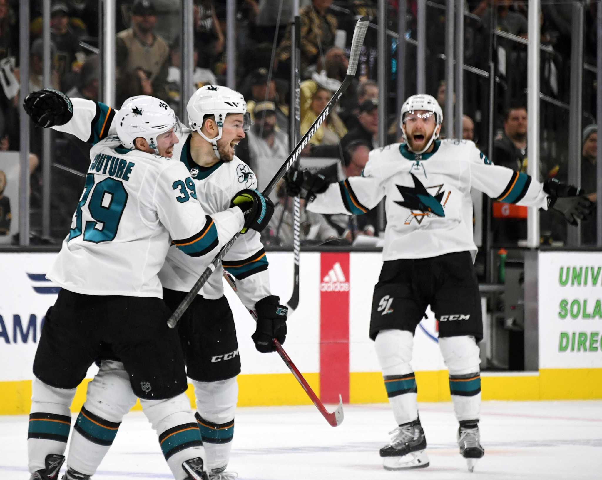 09f7f2bc9ea Tomas Hertl's goal gives Sharks win, sends series to Game 7 - SFGate
