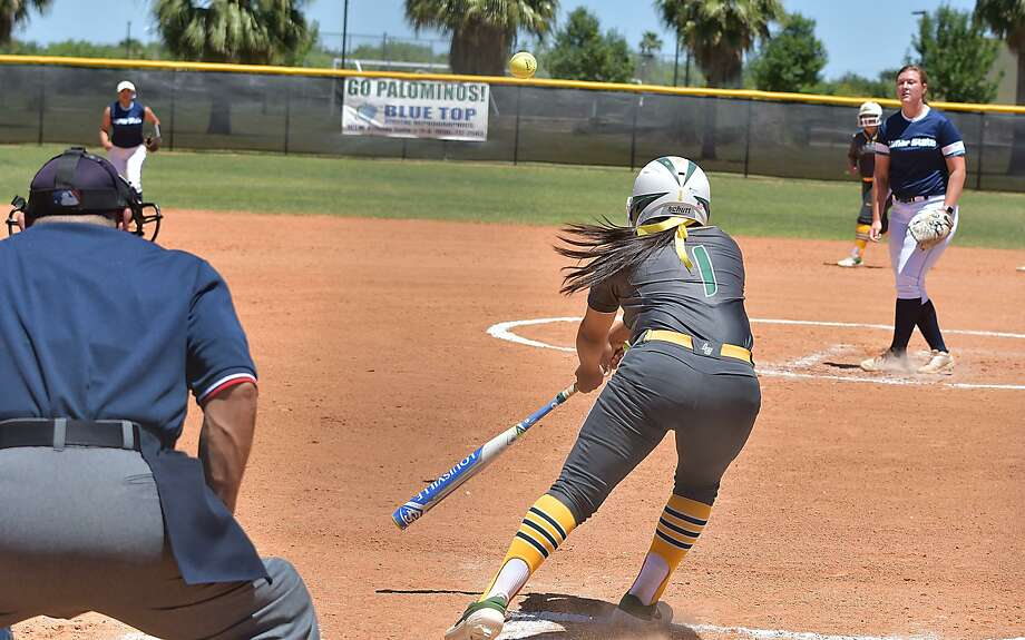 Laredo College's Tania Castro has collected 63 hits this season with six games remaining. Photo: Cuate Santos /Laredo Morning Times / Laredo Morning Times