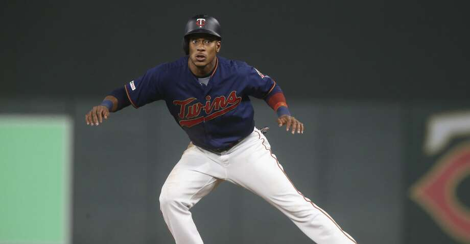 PHOTOS: Astros game-by-game Minnesota Twins' Jorge Polanco takes a lead at first base in a baseball game against the Toronto Blue Jays Wednesday, April 17, 2019, in Minneapolis. (AP Photo/Jim Mone) Browse through the photos to see how the Astros have fared in each game this season. Photo: Jim Mone/Associated Press