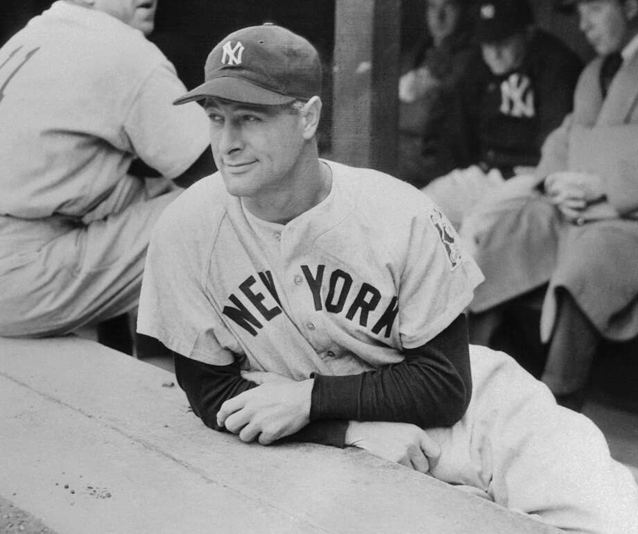 Lou Gehrig, iron man of the New York Yankees, May 3, 1939. Photo: Getty Images / Contributed Photo / Getty Images