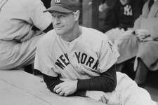 Lou Gehrig, iron man of the New York Yankees, May 3, 1939.