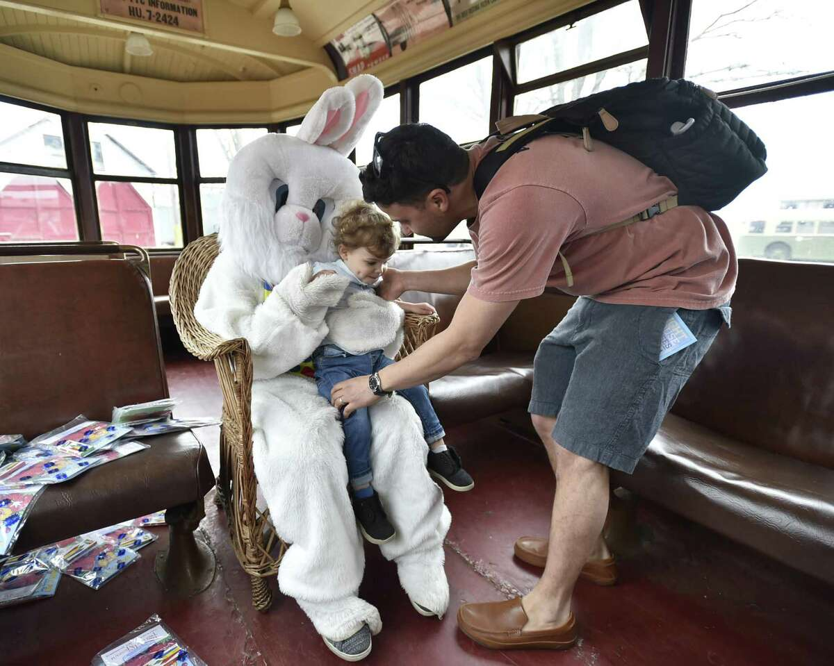 Easter Bunny Trolley Rides, East Haven Hop aboard for this Easter-inspired train ride featuring the most famous bunny around - the Easter Bunny. Photo opportunities take place at the Shore Line Trolley Museum on Saturday and Sunday. Find out more.