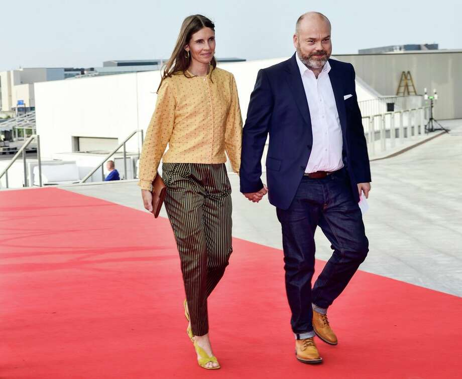 This picture taken on May 27, 2018 shows Bestseller-owner Anders Holch Povlsen and his wife Anne Holch Povlsen as they arrive at the celebration of the 50th birthday of Crown Prince Frederik of Denmark in Royal Arena in Copenhagen, Denmark. The Bestseller company confirmed on April 22, 2019, that the Holch Povlsen couple lost three of their children in the attacks in Sri Lanka. Photo: TARIQ MIKKEL KHAN/AFP/Getty Images