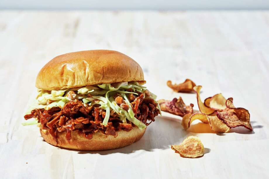 This barbecue jackfruit sandwich is much more than a vegan consolation prize