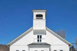 The owners of Plain Goods renovated the old Pavilion Hall in New Preston. They recently won the 2019 Award of Merit from the Connecticut Trust for Historic Preservation.