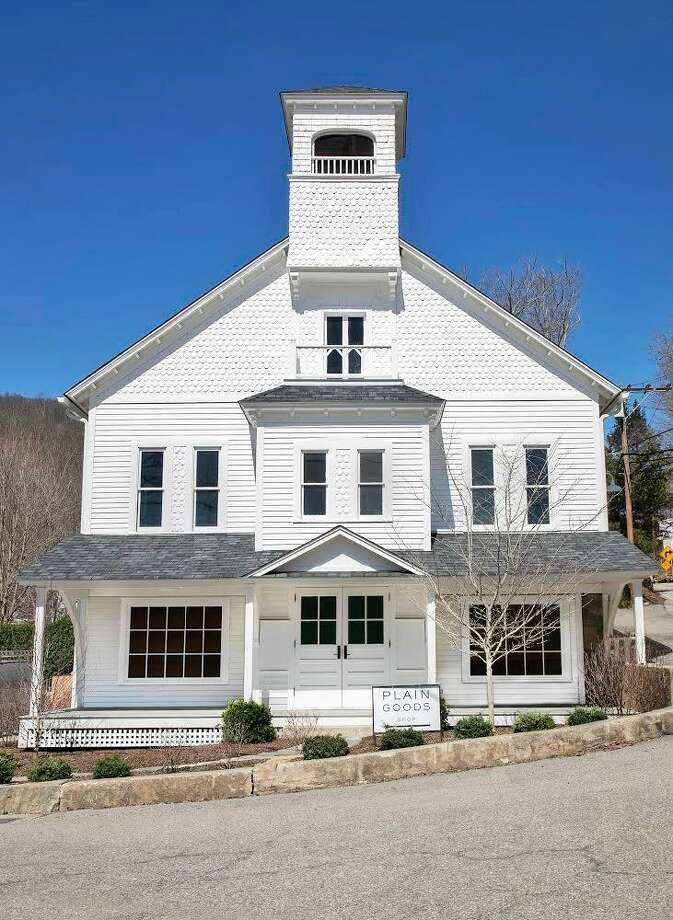 The owners of Plain Goods renovated the old Pavilion Hall in New Preston. They recently won the 2019 Award of Merit from the Connecticut Trust for Historic Preservation. Photo: Contributed Photo / Contributed Photo / The News-Times Contributed