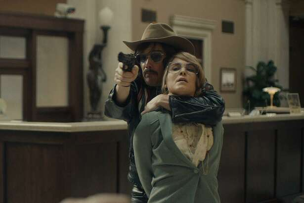 Ethan Hawke and Noomi Rapace in 'Stockholm'