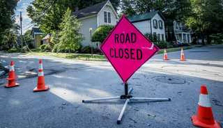 A water main break on Friday, April 26, 2019, in Rotterdam closed Princetown Road between Burnett Street and Mariaville Road.