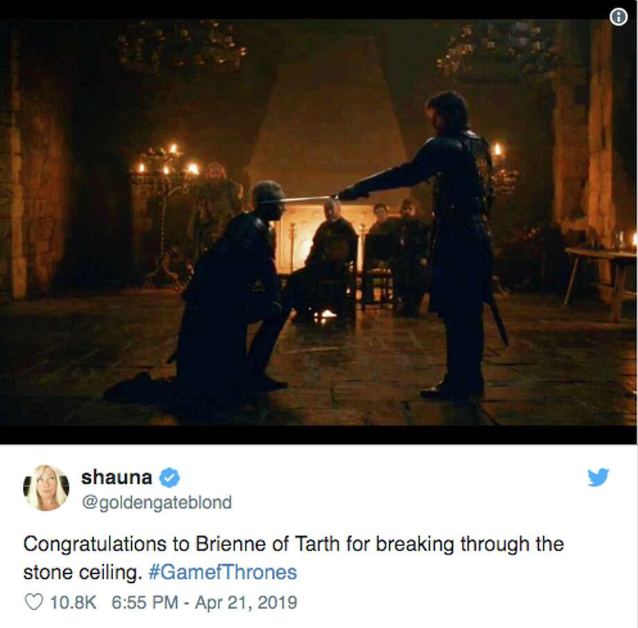 "Twitter had a lot of thoughts about episode 2 of the final season of ""Game of Thrones."" Photo: Screenshot Via Twitter"
