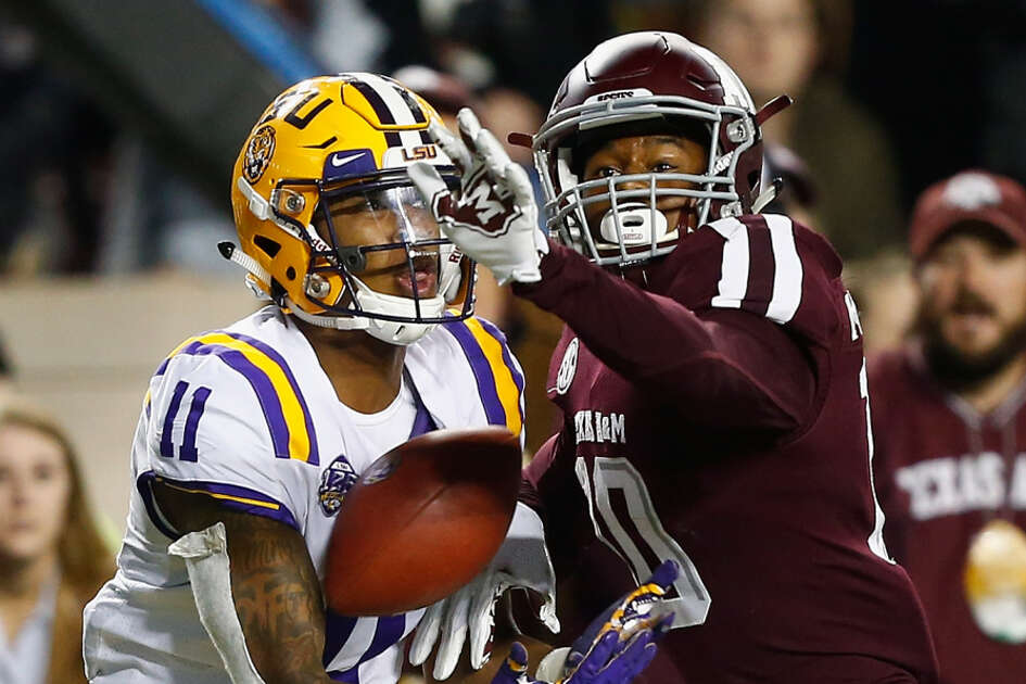 Texas A&M's Myles Jones missed part of spring drills with an injury.