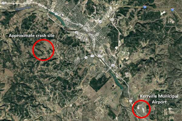 The NTSB is investigating crash Monday, April 22, 2019, of a Beech BE58 near Kerrville, TX. The twin-engine aircraft crashed around 9 a.m. as it was preparing to land at Kerrville Municipal Airport, an FAA spokesperson said.