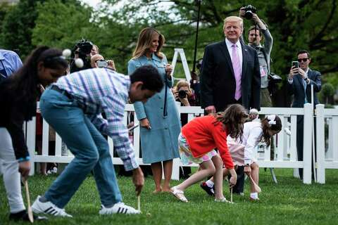 The Trumps host the White House's 141st Easter celebration