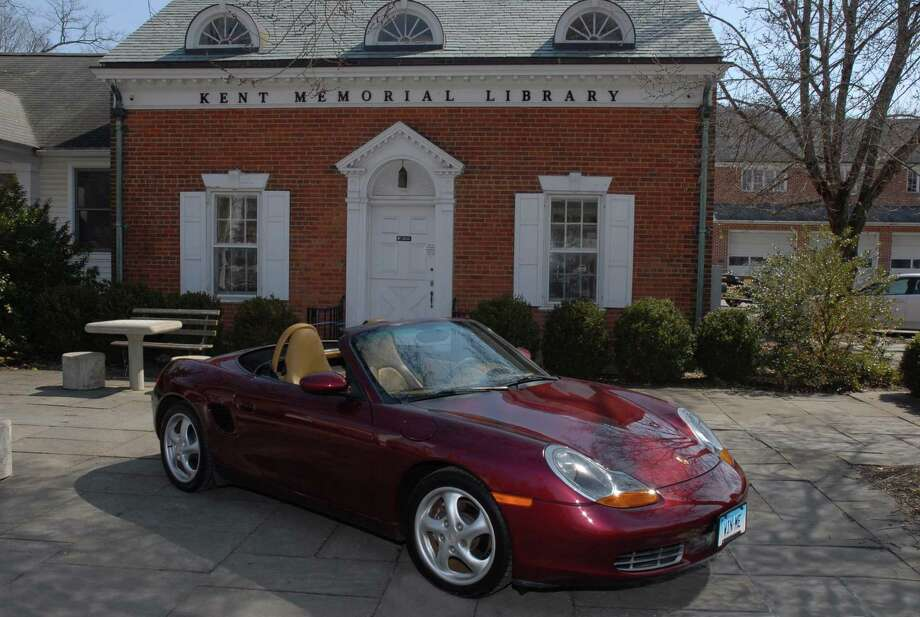 A mint condition Porsche Boxster Roadster is this year's Kent Memorial Library raffle car. For more information, go to kentmemoriallibrary.org. Photo: Ray Olsen Photography / Contributed Photo