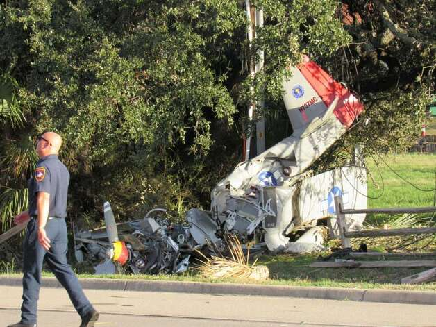 February 15, 2019 Two men are recovering and federal officials investigating following a non-fatal plane crash just north of Austin, according to Horseshoe Bay police.  Horseshoe Bay emergency personnel responded to the 6800 block of FM 2147 at 4:04 p.m. after receiving a call of a plane crash to discover a single-engine experimental fixed-wing aircraft that had crashed into a utility pole, according to a news release. Photo: Joshua M.