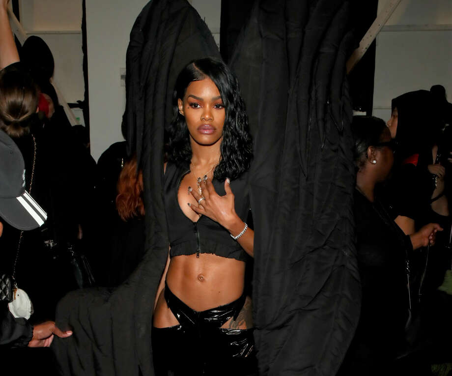 PHOTOS: The Rockets have a star-studded history of fans who have cheered on Houston's NBA team through the years. Teyana Taylor, who is married to Rockets player Iman Shumpert, is no stranger to the celebrity spotlight.>>> See celebrity Rockets fans ... Photo: Astrid Stawiarz/Getty Images For NYFW: The Shows